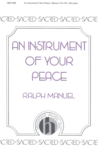 Product Cover for An Instrument of Your Peace