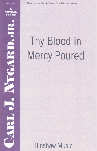 Product Cover for Thy Blood in Mercy Poured