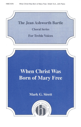Product Cover for When Christ Was Born of Mary Free