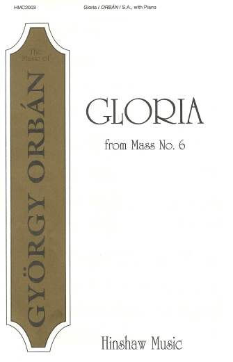 Product Cover for Gloria (from Mass #6)