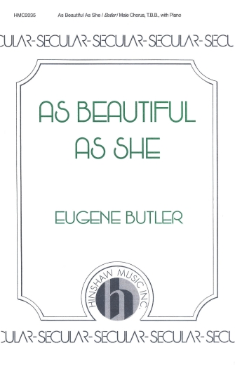 Product Cover for As Beautiful As She