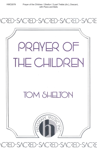 Product Cover for Prayer Of The Children