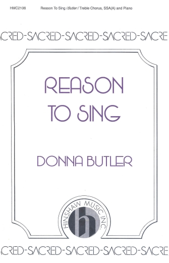 Product Cover for Reason to Sing