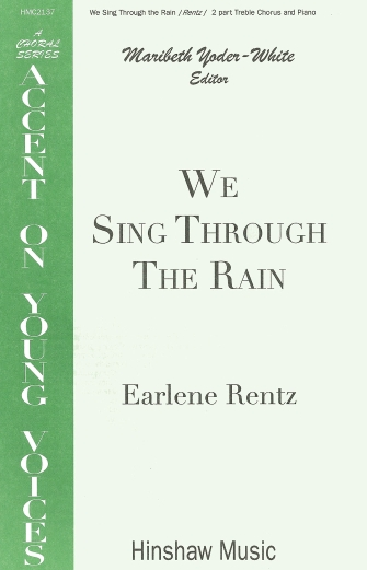 Product Cover for We Sing Through the Rain