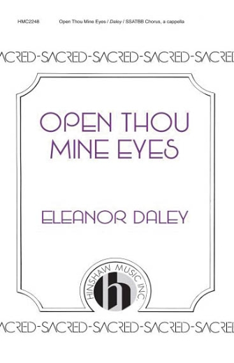 Product Cover for Open Thou Mine Eyes