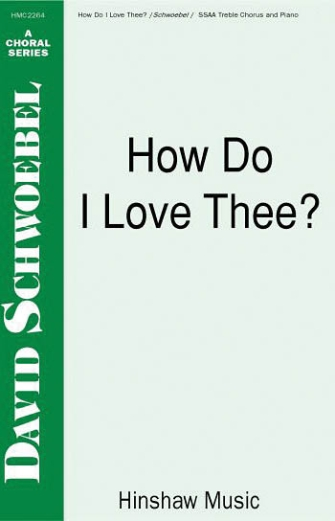 Product Cover for How Do I Love Thee