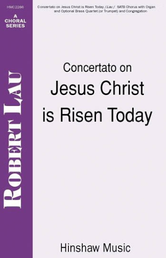 Product Cover for Concertato on Jesus Christ Is Risen Today