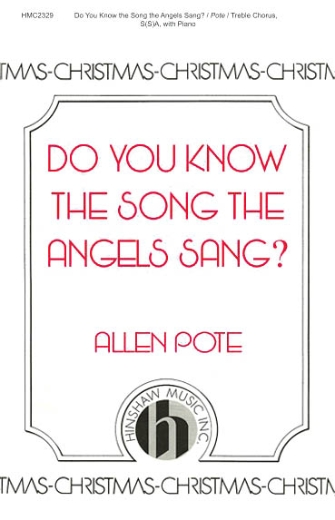 Product Cover for Do You Know The Song The Angels Sang?