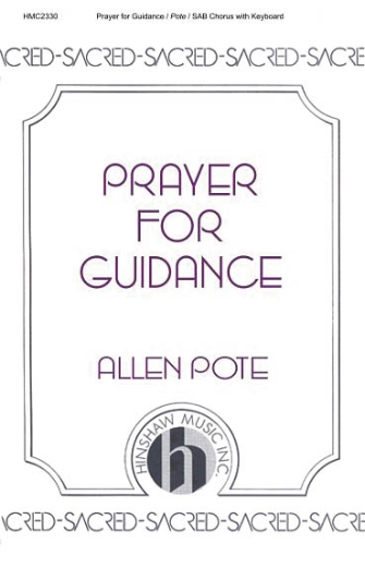 Product Cover for Prayer For Guidance
