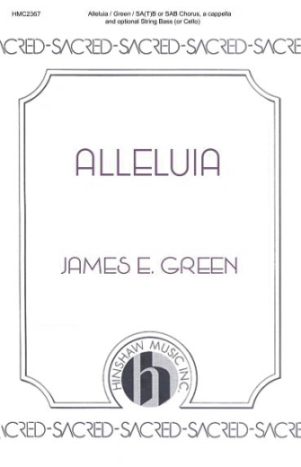 Product Cover for Alleluia (Looking Away)