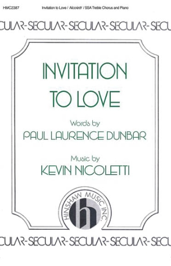 Product Cover for Invitation to Love