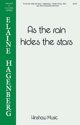 Product Cover for As the Rain Hides the Stars