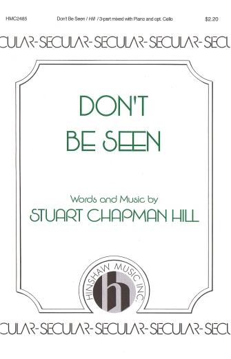 Product Cover for Don't Be Seen