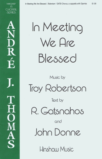 Product Cover for In Meeting We Are Blessed