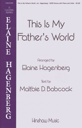 Product Cover for This Is My Father's World