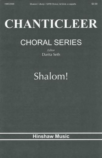 Shalom : SATB : Elio Bucky : Elio Bucky : Chanticleer : Sheet Music : 08764916 : 728215051456