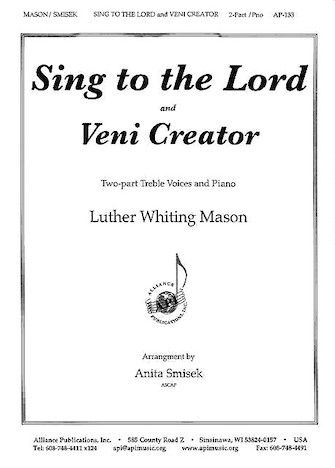 Product Cover for Sing to the Lord/Veni Creator