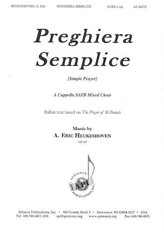 Product Cover for Preghiera Semplice