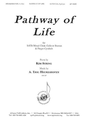 Product Cover for Pathway of Life