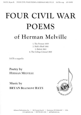 Product Cover for Four Civil War Poems