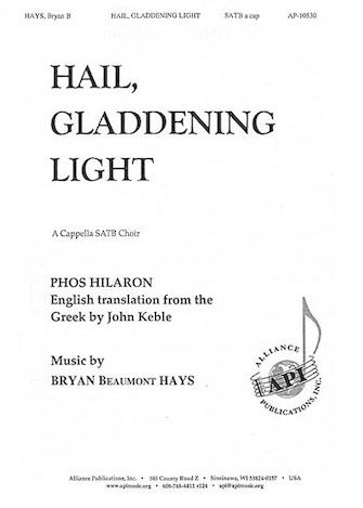Product Cover for Hail, Gladdening Light