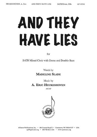 Product Cover for And They Have Lies