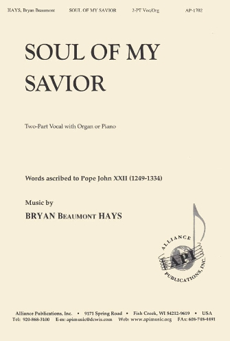 Product Cover for Soul of My Savior