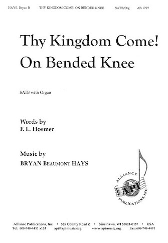 Product Cover for Thy Kingdom Come!/On Bended Knee