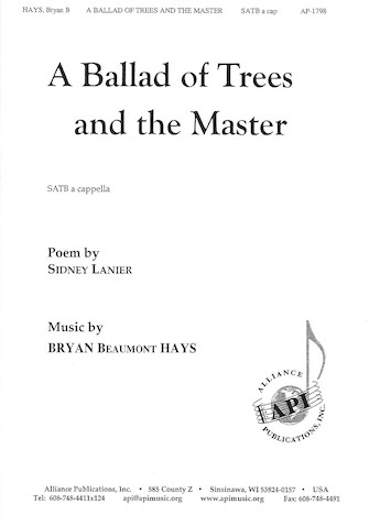 Product Cover for A Ballad of Trees and the Master