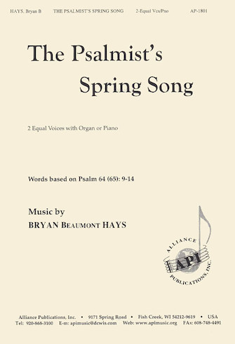Product Cover for The Psalmist's Spring Song