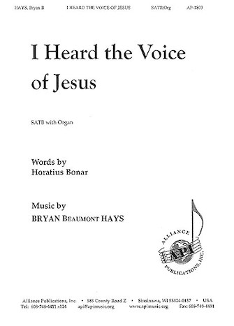 Product Cover for I Heard the Voice of Jesus