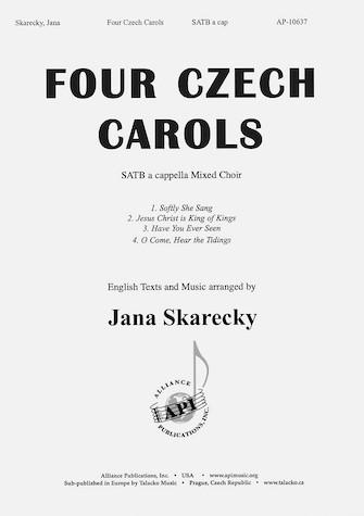 Four Czech Carols : SATB : Jana Skarecky : Jana Skarecky : Sheet Music : 08774120
