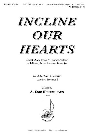 Product Cover for Incline Our Hearts