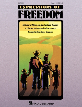 Product Cover for Expressions of Freedom Volume III (Anthology of African-American Spirituals)
