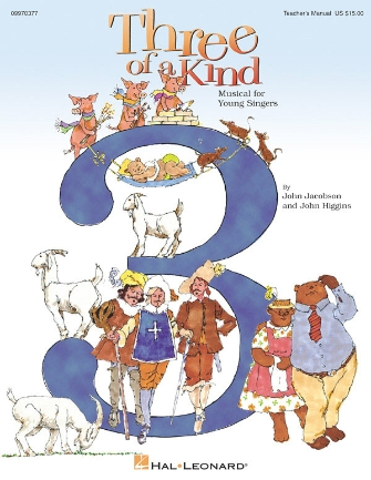 Product Cover for Three of a Kind (Musical)