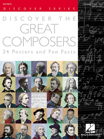Product Cover for Discover the Great Composers (Set of 24 Posters)