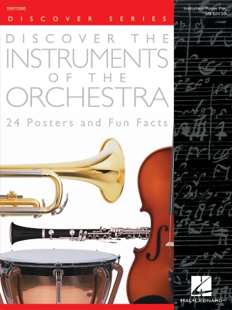Product Cover for Discover the Instruments of the Orchestra (24 Posters)