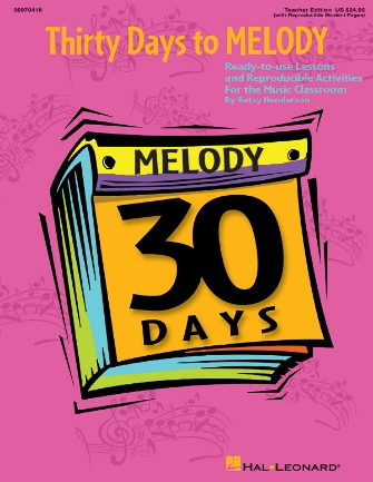 Product Cover for Thirty Days to Melody