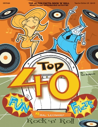 Product Cover for Top 40 Fun Facts: Rock and Roll (Classroom Resource)