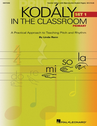 Product Cover for Kodaly in the Classroom – Primary (Set I)