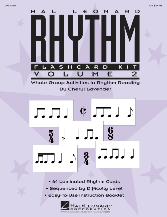 Product Cover for Hal Leonard Rhythm Flashcard Kit, Volume 2