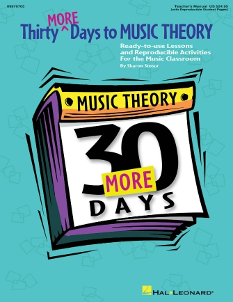 Product Cover for Thirty More Days To Music Theory