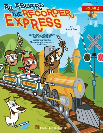 Product Cover for All Aboard the Recorder Express – Volume 2