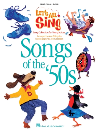 Product Cover for Let's All Sing Songs of the '50s