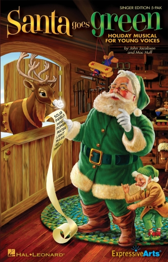 Product Cover for Santa Goes Green