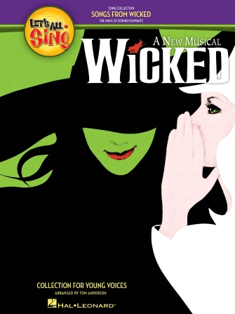 Product Cover for Let's All Sing Songs from Wicked