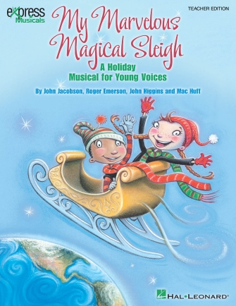 Product Cover for My Marvelous Magical Sleigh