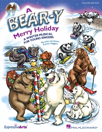 Product Cover for A Bear-y Merry Holiday