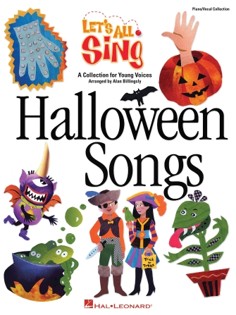 Product Cover for Let's All Sing Halloween Songs