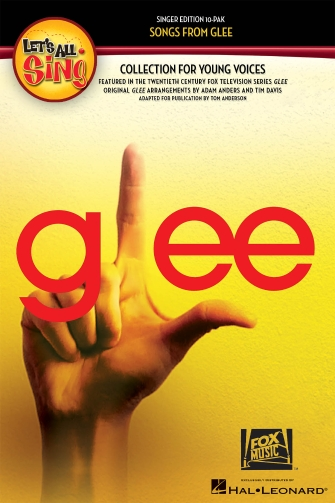 Product Cover for Let's All Sing Songs from Glee